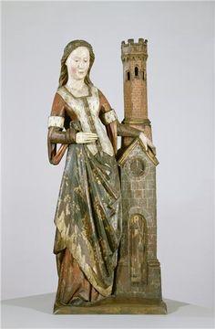 St. Barbara the Patron Saint of Field Artillery