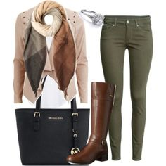 Love this casual outfit featuring Topshop, Michael Kors, H&M, Object Collectors Item, Paul Smith and Bandolino Young Teacher Outfits, Teaching Outfits, Winter Teacher Outfits, Mode Outfits, Casual Outfits, Fashion Outfits, Womens Fashion, Fall Winter Outfits, Autumn Winter Fashion