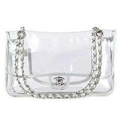 935885601 Bolso transparente con cadenas de Chanel Carteiras, Bolsa Chanel, Bolsas  Chanel, Bolsas De