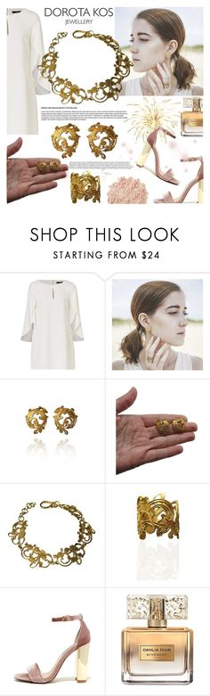 """""""DOROTA KOS JEWELLERY"""" by gaby-mil ❤ liked on Polyvore featuring Steve Madden, Givenchy, La Mer, jewellery and dorotakos"""