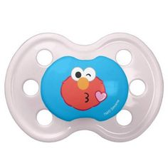 (Elmo Face Throwing a Kiss Pacifier) #Cute #Elmo #Emoji #EmojiIcons #Fun #Icons #MobileIcon #SesameStreet is available on Famous Characters Store   http://ift.tt/2aIaDFU