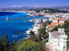 Nice, France...might be one of the prettiest places I've ever been.