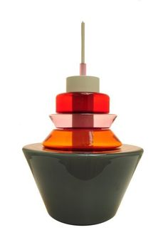 beautiful moulded glass lighting by Paola Petrobelli, commissioned by Gallery Libby Sellers in London