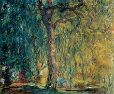 El sauce llorón de Monet