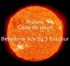 Soulager brûlures et coups de soleil. #homeopathie #brulure #coupdesoleil