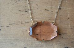 A gorgeous vintage Czech glass pendant, in the palest shade of blush pink.