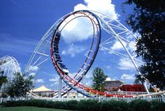 1st rollercoaster ride ever...The Zoomarang @ Circus World in Florida