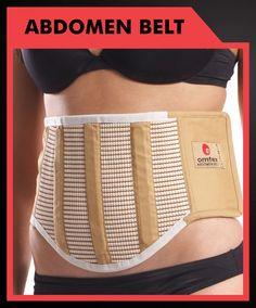 Omtex Abdomen Belt With Velcro (Skin)