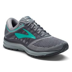 de038d8aa8f3c Women s Brooks Revel (Grey Ebony Teal Green)