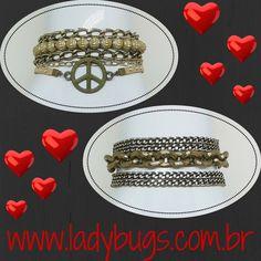 Pulseiras 5 voltas em ouro velho - exclusividades by Nikah Costa a partir de R$ 38,00Vem ver: www.ladybugs.com.br ou segue o link na bio  #acessóriosfemininos #acessorios #bijuteria #bijuterias #bijoux #visitenossaloja #bijuteriaonline #exclusividade #novidades #trendalert #moda #tendencia #lojavirtual #lojaonline #look #caraguatatuba #jundiai #brasil #pulseira #pulseirismo #pulseiras #pulseirafeminina #pulsocheio #pulseirasfemininas #purovelho #paz #peace #diadosnamorados #presente #p