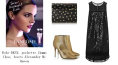 look, parfum, fragrance, Lancôme, Trésor Midnight rose, DKNY, Jimmy Choo, Alexander Mc Queen, tea time in paris