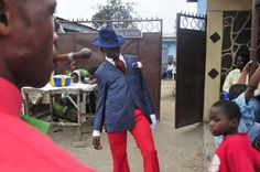 Congolese capital Brazzaville has a subculture known as Sapeurs. This is a society of elegant people. Men of all ages dress up in designer c...