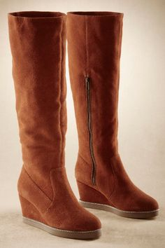 Chalet Boot - Wedge Boot, Wearable Boot, Soft Suede Boot | Soft Surroundings
