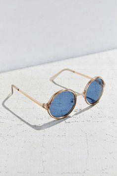 96389772c8831 Both Worlds Round Sunglasses