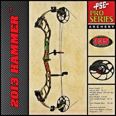 Drop the Hammer on the Game you Hunt! #archery #bows @PSE Archery