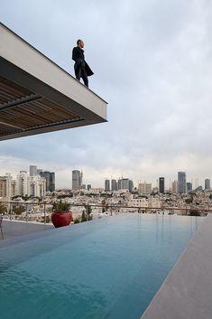 Antokolsky Penthouse by Pitsou Kedem Architects