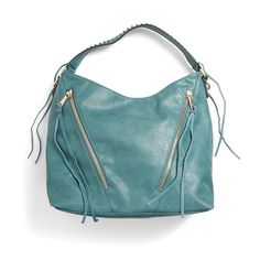 It's slouchy-chic. Adding a handbag to your collection with statement embellishments—even in a laid-back shape—adds just the right amount of glam to your everyday. Stitch Fix | Avery Zipper Detail Hobo Bag