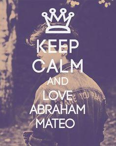 Abrahammus eres en mi corazón ❤️❤️❤️