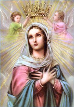 Novena a Nossa Senhora Rainha – inicio 13 de agosto, festa 22 de agosto - Aniversário do site! - Ave Luz