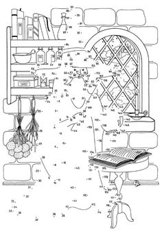 Dot-to-Dot Halloween Puzzle Download, for the big kid in