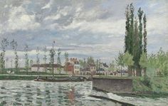 Camille Pissarro (French, The Lock at Pontoise, Oil on fabric. Probably purchased by Durand-Ruel from Pissarro on May Sold to French painter James Tissot on November The Cleveland Museum of Art. Leonard C. Fund, © The Cleveland Museum of Art Camille Pissarro, Pierre Auguste Renoir, Gustave Courbet, Cleveland Museum Of Art, Cleveland Ohio, Impressionist Artists, Philadelphia Museum Of Art, Post Impressionism, Paul Gauguin