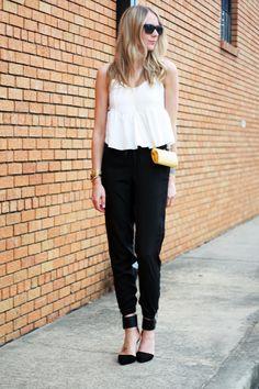 The pants. Major fashion moment.