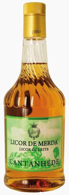 Licor de Merda Cantanhede lançado em Portugal em homenagem aos políticos daquela época. Portugal, Spirit Drink, Plus Size Art, Cheese Sausage, Whiskey Bottle, Wines, Red Wine, Food And Drink, Eat