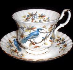 Royal Albert China Series - Blue Jay