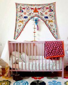 New Moon: Bohemian Nursery Inspiration... Wall Hangings