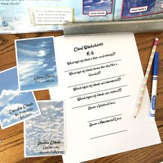 Little School of Smith's- Cloud Study Love at Home Education Hands On Learning, Learning Through Play, Curriculum, Homeschool, Writing Practice, Activities To Do, Vocabulary Words, Writing Prompts, How To Memorize Things