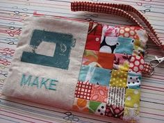This is darling - but thinking of sewing that tiny patchwork gives me a headache.....