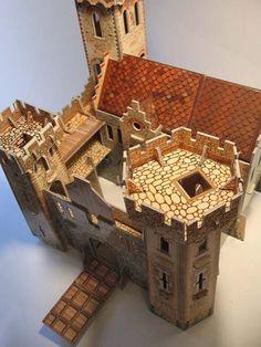 3D Пазл «Рыцарский замок» Умная бумага