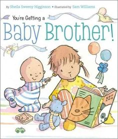 A baby brother is on the way! Older siblings will love this board book primer on how to receive their new addition. Everyone is delighted that a baby brother is joining the familybut older siblings ma