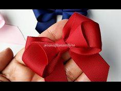Ribbon Art Ribbon Bows Ribbons Bow Tutorial Diy Hair Bows How To Make Ribbon Burlap Flowers Flower Making Crochet Ribbon Hair Bows, Diy Hair Bows, Diy Bow, Bow Hair Clips, Ribbon Bow Tutorial, Hair Bow Tutorial, Burlap Flowers, Fabric Flowers, Handmade Hair Bows