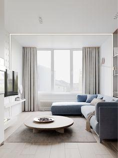Living Room Scandinavian Pastel Petite Precious & Pastel Home Interior Home Design, Futuristisches Design, Modern Home Interior Design, Design Ideas, Design Inspiration, Living Room Designs, Living Room Decor, Living Spaces, Pastel Living Room