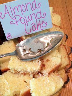 Recipe for almond pound cake tastefully simple