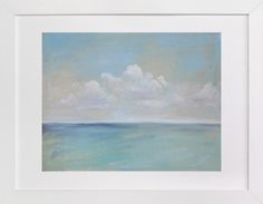 """Seascape I"" - Available in a variety of frame and size options."
