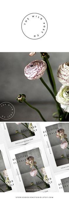 Wild Posy // modern minimalist brand identitynby StoriesDesignStudio