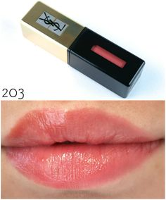 Ysl Yves Saint Laurent Vernis A Levres Pop Water Glossy