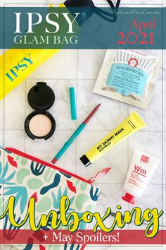 Hey, guys! It's time for my #IPSY Glam Bagunboxing for April 2021 and this month's theme is #IPSYForceOfNature. How cute is this bag?! I'll tell you a little about IPSY Glam Bag, all of the products that could be in your April Glam Bag, what I got in mine, plus I've got SPOILERS for the May bag! Let's get unbagging! #GiftedbyIPSY #GlamBag #unboxing #spoilers #beauty #makeup #skincare #subscriptionbox