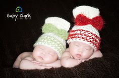 Twin Set Sack Hat with Bows