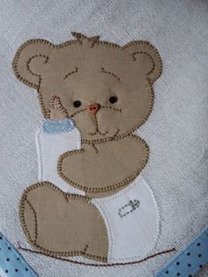 Quilt Baby, Boy Quilts, Baby Applique, Baby Embroidery, Machine Embroidery, Machine Applique Designs, Applique Patterns, Teddy Bear Quilt Pattern, Baby Sheets