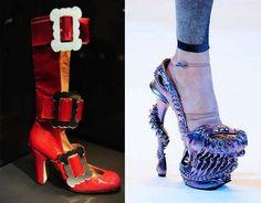 Stylish, freakish, unique footwear