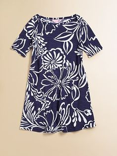 Lilly Pulitzer Kids Toddler's & Little Girl's Floral Knit Dress