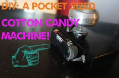Too awesome for words. Sugar junkies unite! Picture of DIY: A Pocket sized Cotton candy machine!