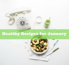 A Minty Green Smoothie recipe & the Healthy January Link Up | Foodies 100