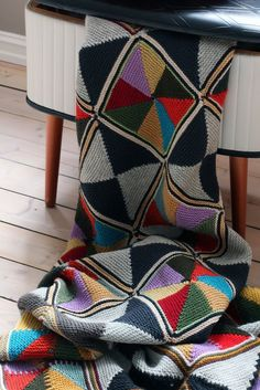 It's knit, but could be done in crochet                                                                                                                                                                                 More