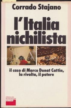 L'Italia nichilista - Corrado Stajano