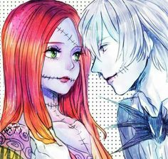 Jack Skellington and Sally anime | Share