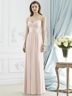 Dessy Collection Style 2944 (shown in blush)
